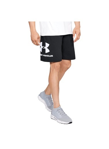 Under Armour Ua Sportstyle Cotton Shorts Siyah